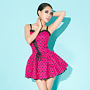 Women's Lace-up hartendief Skater Dress