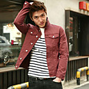 Men 's Denim Ultra-Thin Men Denim Jacket Coat Jean Jacket Coat Outwear