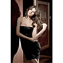 Bandeau mulheres de vestido de lantejoulas (Comprimento: 65 centmetros Busto :86-102 centmetros Cintura :58-79)