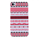 Flor Stripe Pattern Hard capa protetora para iPhone 4/4S