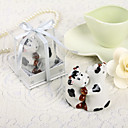 Cute Cow Shaped Ceramic Salt & Pepper Shakers