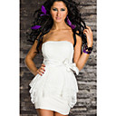 Women's White Sweet Cute Dress(Bust:86-102cm,Waist:58-79cm,Hip:90-104cm)