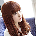 Brown 60cm Casual Lolita Curly Wig