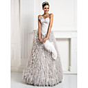 Ball Gown Sweetheart Floor-length Tulle Evening Dress