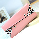 Women's Fashion Leopard Pattern Rivet Wallet