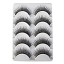5 Pairs European Black False Eyelashes 904