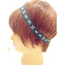 Women's Little Flower Blue Lace Hair Band