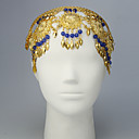 Performance Alloy with Beads Belly Dance Headpiece More Colors
