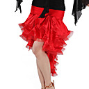 Dancewear Spandex and Satin Latin Dance Skirt For Ladies