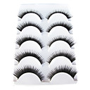5 Pairs European Black False Eyelashes 923