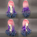 Pink and Purple and Blue Gradient 65cm Sweet Lolita Wig