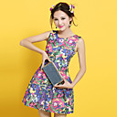 Women's Print Sleeveless Dress