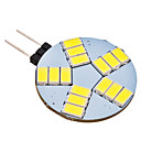 G4 4W 15x5630SMD 320-350LM 6000-6500K Natural White Light LED Spot Bulb (AC 12V)