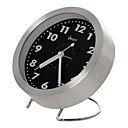 Modern Metal Alarm Clock