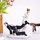 Dragging The Groom Wedding Cake Topper
