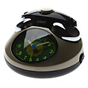 "2.7"" Telephone Style Analog Desktop Alarm Clock (Grey, 3xAA)"