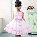 Pretty Sleeveless Tulle Wedding/Evening Flower Girl Dress