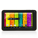 A70 Dual Core - Android 4.2.2 Tablet mit 7-Zoll kapazitiven Touchscreen (4GB/512M RAM/1.5GHz/3G/Dual Camera)