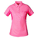 Dames Sneldrogend Polo T-shirts (Roze)