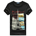 Marcos William Hierro Tower Print Cotton T Shirt