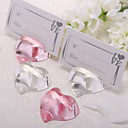 Crystal Heart Placecard Holder (More Colors)