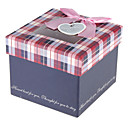 Gift Box With Ribbon Bowknot And Tag