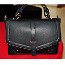 Lady's Fashion Simple Solid Color Crossbody Bag