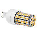 G9 6W 59x5050SMD 540LM 2800-3500K Warm White Light LED Corn Bulb (220-240V)