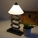 Rural Industrial Loft Style Brass Lamp Holder Retractable Scissor Table Lamp