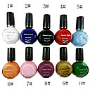10 colores puros colores uv gel de construcción nail art 10 ml