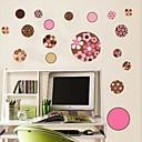 Flower Circles muur sticker