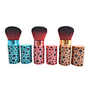 Fashion Black Dot Print Makeup Blush Brush