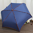 Love City Polka Dot Folding Umbrella