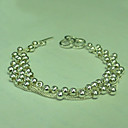 Fashion 925 Sterling Silver Bracelet With The Fancy Style (Qty:12) Freeshipping (RP028)