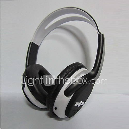 Wireless Stereo Headset Micro SD/ TF Card Hi-Fi Digital Music Headphone