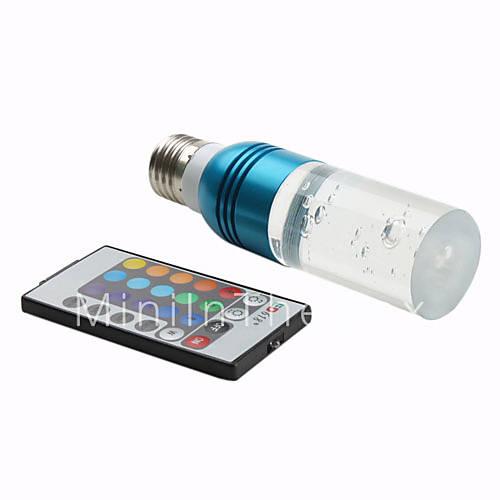 lampadina led multicolore : Lampadina Lampada Led Bulbo Sfera E14 5W 220V RGB Multicolore Con ...